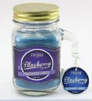 Desire Candle Jar Blueberry Mini.Beautiful Fragrance Candle In A jar. Great Gift For Mum Or Her..